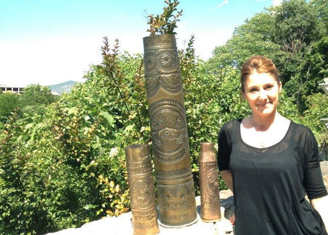 Trench art from Mostar
